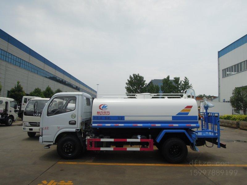 东风福瑞卡5方CLW5070GSSW5型洒水车-程力威牌CLW5070GSSW5型洒水车-免征: 无|燃油: 无