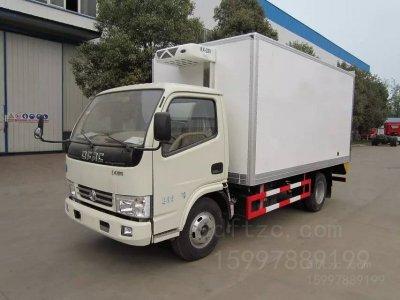 东风  锐铃  5吨CLW5040XLCT4型冷藏车-程力威牌CLW5040XLCT4型冷藏车-免征: 无|燃油: 无