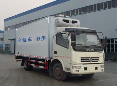 东风多利卡7吨CLW5080XLC5型冷藏车-程力威牌CLW5080XLC5型冷藏车-免征: 无|燃油: 无