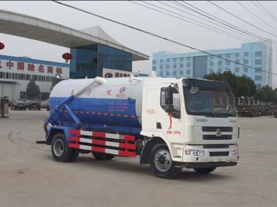 柳汽乘龙11方CLW5180GXWL5型吸污车-程力威牌CLW5180GXWL5型吸污车-免征: 无|燃油: 无