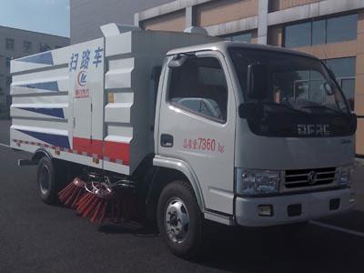 东风福瑞卡3方蓝牌CLW5070TSLD5型扫路车-程力威牌CLW5070TSLD5型扫路车-免征: 有|燃油: 无