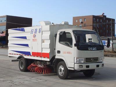 东风多利卡3方蓝牌CLW5040TSLD5型扫路车-程力威牌CLW5040TSLD5型扫路车-免征: 有|燃油: 无