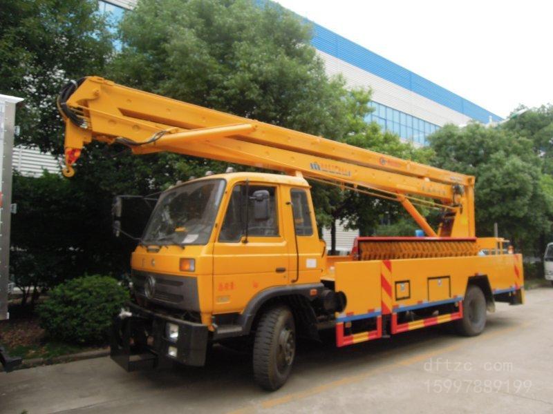 东风145 18米CLW5111JGKD5型高空作业车-程力威牌CLW5111JGKD5型高空作业车-免征: 有|燃油: 无
