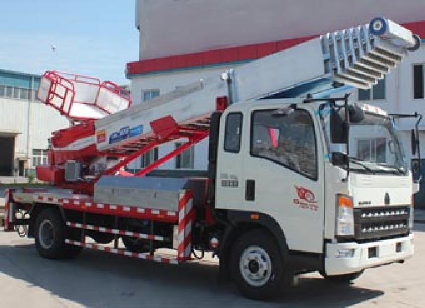 重汽38-45米CLW5090TBAZ5型搬家作业车-程力威牌CLW5090TBAZ5型搬家作业车-免征: 无|燃油: 无