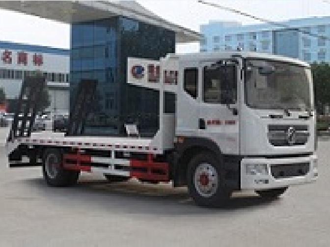 东风145  4.7米CLW5145TPBE5型平板运输车-程力威牌CLW5145TPBE5型平板运输车-免征: 无|燃油: 无