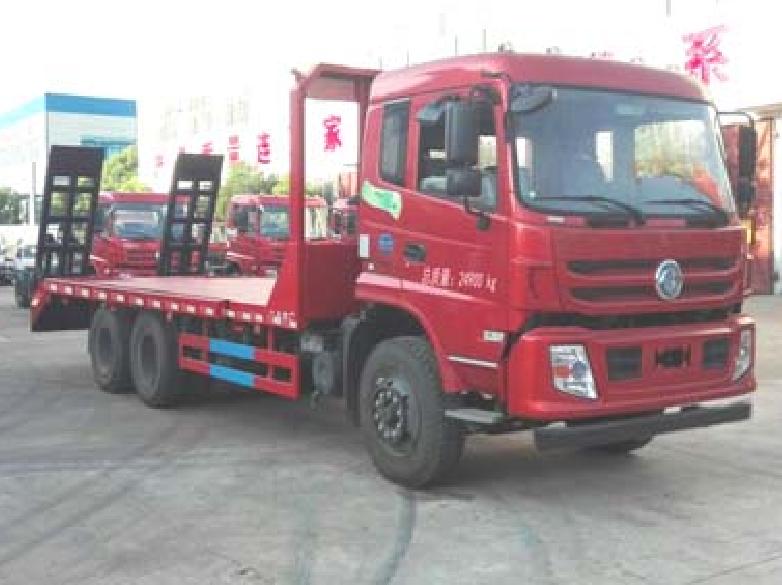 东风后八轮CLW5250TPBT5型平板运输车-程力威牌CLW5250TPBT5型平板运输车-免征: 无|燃油: 无