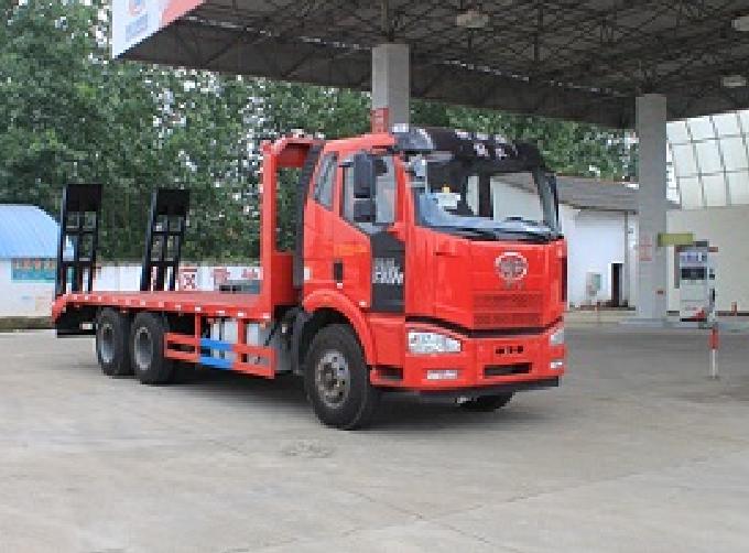 解放后八轮CLW5251TPBC5型平板运输车-程力威牌CLW5251TPBC5型平板运输车-免征: 无|燃油: 无