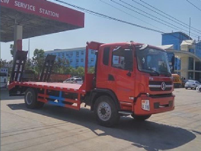 陕汽轩德单桥CLW5161TPBS5型平板运输车-程力威牌CLW5161TPBS5型平板运输车-免征: 无|燃油: 有