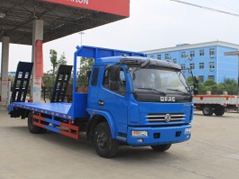 东风凯普特CLW5090TPBT5型平板运输车-程力威牌CLW5090TPBT5型平板运输车-免征: 无|燃油: 无