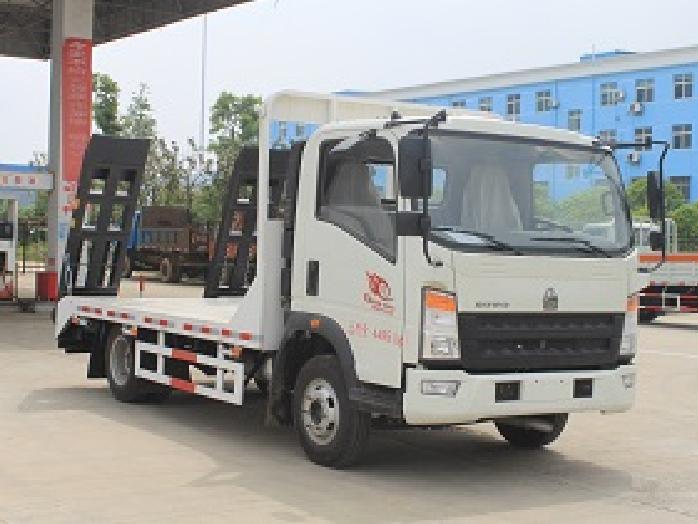 福田蓝牌CLW5040TPBZ5型平板运输车-程力威牌CLW5040TPBZ5型平板运输车-免征: 无|燃油: 有