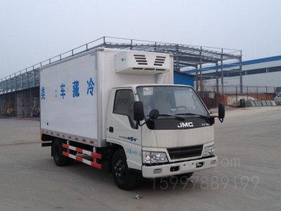 江铃单排5吨CLW5041XLCJ5型冷藏车-程力威牌CLW5041XLCJ5型冷藏车-免征: 无|燃油: 有