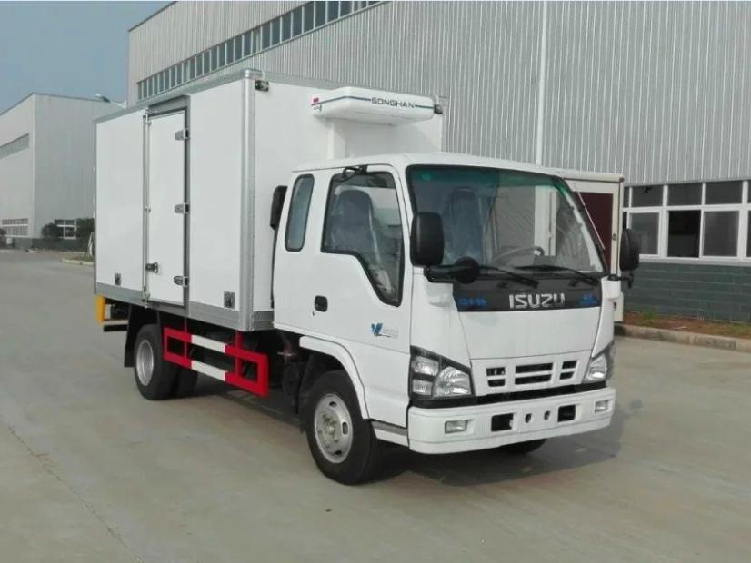庆铃五十铃双排5吨蓝牌CLW5043XLCQ5型冷藏车-程力威牌CLW5043XLCQ5型冷藏车-免征: 无|燃油: 无