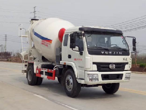 跃进3-6方EHY5160GJBN型水泥搅拌车-华专一牌EHY5160GJBN型混凝土搅拌运输车-免征: 无|燃油: 无