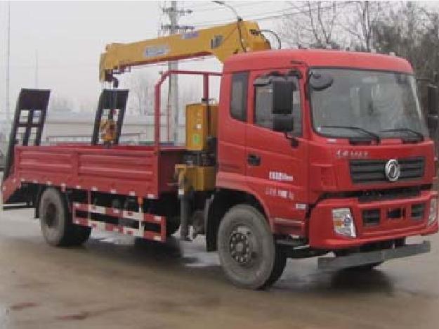 东风153 CLW5180JSQ5型随车起重运输车-程力威牌CLW5180JSQ5型随车起重运输车-免征: 无|燃油: 无