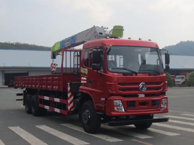 东风后八轮EQ5258JSQFV型随车起重运输车-东风牌EQ5258JSQFV型随车起重运输车-免征: 无|燃油: 无