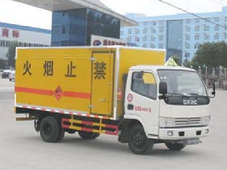 东风多利卡d6 CLW5042XQY5型爆破器材运输车-程力威牌CLW5042XQY5型爆破器材运输车-免征: 无|燃油: 无