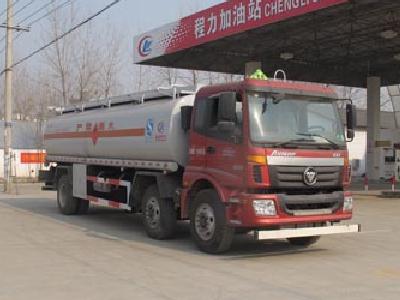 欧曼小三轴23方CLW5250GJYB5型加油车-程力威牌CLW5250GJYB5型加油车-免征: 无|燃油: 有