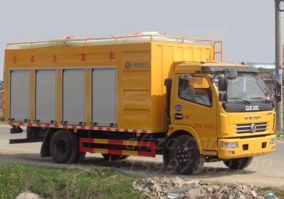 CLW5090TWC6型污水处理车-程力威牌CLW5090TWC6型污水处理车   免征√  环保√  蓝牌√