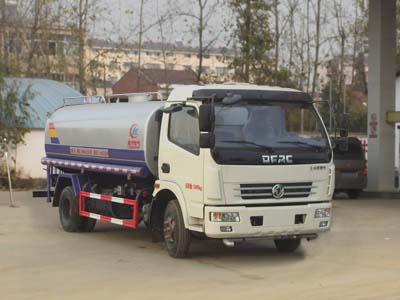 程力威牌CLW5121GSSE5型洒水车-免征: 无|燃油: 无 title=