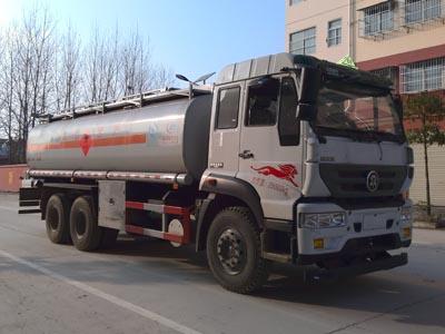 重汽  后八轮  17方CLW5258GYYZ5型运油车-程力威牌CLW5258GYYZ5型运油车-免征: 无|燃油: 无