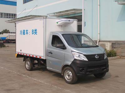 开瑞小卡3吨蓝牌CLW5020XLCQ5型冷藏车-程力威牌CLW5020XLCQ5型冷藏车-免征: 无|燃油: 无