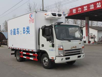 江淮宽体驾驶室5吨CLW5041XLCH5型冷藏车-程力威牌CLW5041XLCH5型冷藏车-免征: 无|燃油: 有