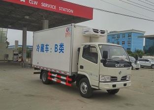 东风-多利卡-5方-CLW5040XLC5型冷藏车-程力威牌CLW5040XLC5型冷藏车-免征: 无|燃油: 无