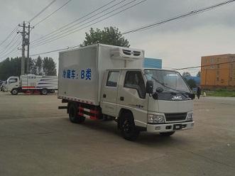 江铃五十铃双排5吨蓝牌CLW5042XLCJ5型冷藏车-程力威牌CLW5042XLCJ5型冷藏车-免征: 无|燃油: 有