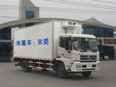 东风天锦10吨CLW5161XLCD5型冷藏车-程力威牌CLW5161XLCD5型冷藏车-免征: 无|燃油: 无