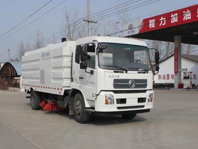 东风天锦9方CLW5168TSLD5型扫路车-程力威牌CLW5168TSLD5型扫路车-免征: 有|燃油: 无