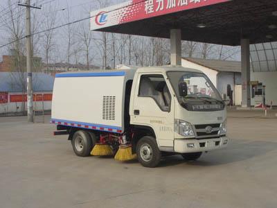 福田2方蓝牌CLW5042TSLB5型扫路车-程力威牌CLW5042TSLB5型扫路车-免征: 有|燃油: 有