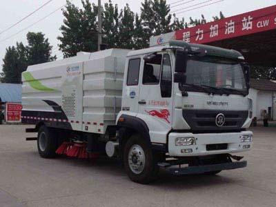 重汽9方CLW5160TSLZ5型扫路车-程力威牌CLW5160TSLZ5型扫路车-免征: 有|燃油: 无