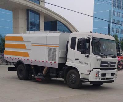 东风天锦8方CLW5162TSLD5型扫路车-程力威牌CLW5162TSLD5型扫路车-免征: 有|燃油: 无