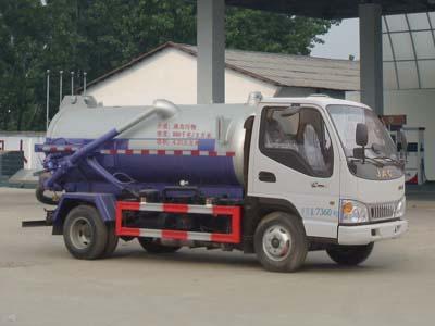 江淮3.5方CLW5070GXWH5型蓝牌吸污车-程力威牌CLW5070GXWH5型吸污车-免征: 有|燃油: 无