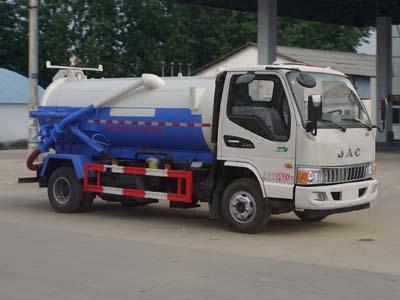 江淮5方CLW5080GXWH5型吸污车-程力威牌CLW5080GXWH5型吸污车-免征: 有|燃油: 无