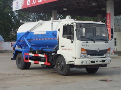 东风145  9方CLW5145GXWE5型吸污车-程力威牌CLW5145GXWE5型吸污车-免征: 有|燃油: 无