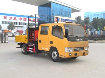 东风福瑞卡CLW5041JGKE5型蓝牌6-10米升降平台车-程力威牌CLW5041JGKE5型高空作业车-免征: 有|燃油: 无
