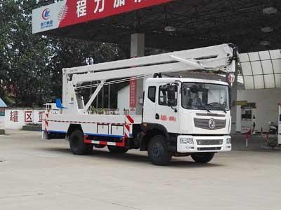 东风153CLW5110JGKE5型18米高空作业车-程力威牌CLW5110JGKE5型高空作业车-免征: 有|燃油: 无