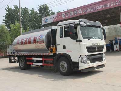 重汽8方CLW5160GLQZ5型沥青洒布车-程力威牌CLW5160GLQZ5型沥青洒布车-免征: 有|燃油: 无
