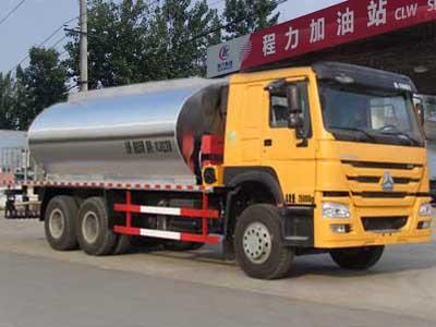 重汽豪沃后八轮10立方CLW5252GLQZ5型沥青洒布车-程力威牌CLW5252GLQZ5型沥青洒布车-免征: 无|燃油: 无