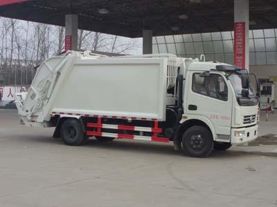 东风多利卡CLW5080ZYST5型压缩垃圾车-程力威牌CLW5080ZYST5型压缩式垃圾车-免征: 有|燃油: 无