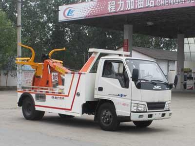 江铃顺达CLW5041TQZJ5型蓝牌托吊清障车-程力威牌CLW5041TQZJ5型清障车-免征: 无|燃油: 有