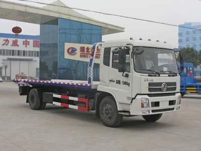 东风天锦CLW5120TQZD5型超长一拖二清障车-程力威牌CLW5120TQZD5型清障车-免征: 无|燃油: 无