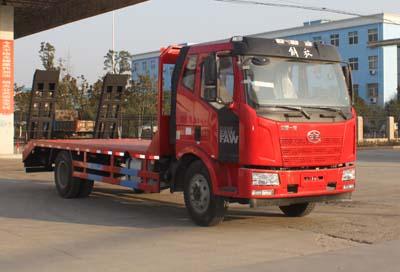 解放单桥CLW5161TPBC5型平板运输车-程力威牌CLW5161TPBC5型平板运输车-免征: 无|燃油: 无