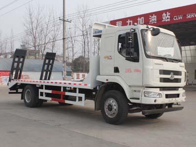 东风柳汽单桥CLW5160TPBL5型平板运输车-程力威牌CLW5160TPBL5型平板运输车-免征: 无|燃油: 无