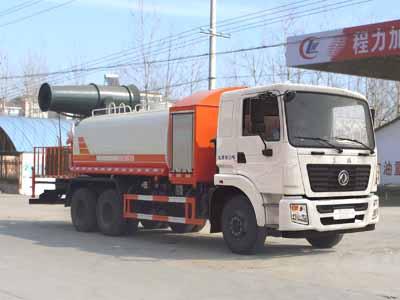 东风后八轮13方CLW5250TDYD5型多功能抑尘车-程力威牌CLW5250TDYD5型多功能抑尘车-免征: 有|燃油: 无