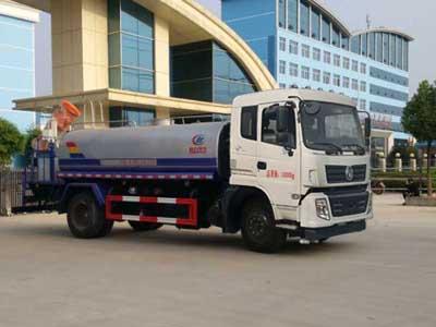 东风145  10方CLW5160TDYD5型抑尘车-程力威牌CLW5160TDYD5型多功能抑尘车-免征: 有|燃油: 无