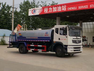 东风153  10方CLW5160TDYE5型多功能抑尘车-程力威牌CLW5160TDYE5型多功能抑尘车-免征: 有|燃油: 无