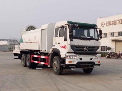 重汽后八轮11方CLW5250TDYZ5型多功能抑尘车-程力威牌CLW5250TDYZ5型多功能抑尘车-免征: 无|燃油: 无