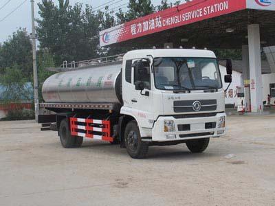 东风天锦8方CLW5160GNYD5型鲜奶运输车-程力威牌CLW5160GNYD5型鲜奶运输车-免征: 无|燃油: 无